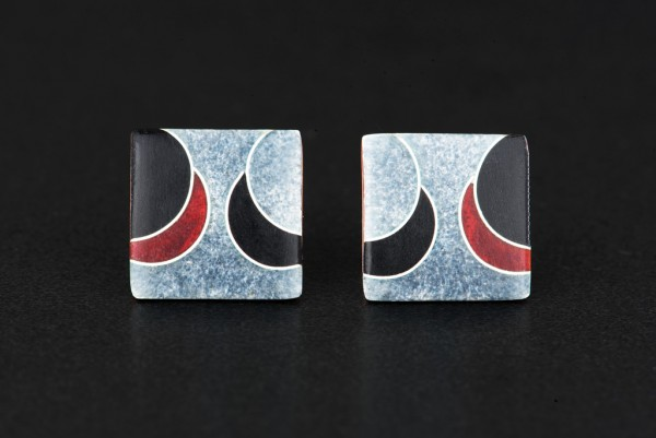 Elegance - Ohrstecker Quadrat