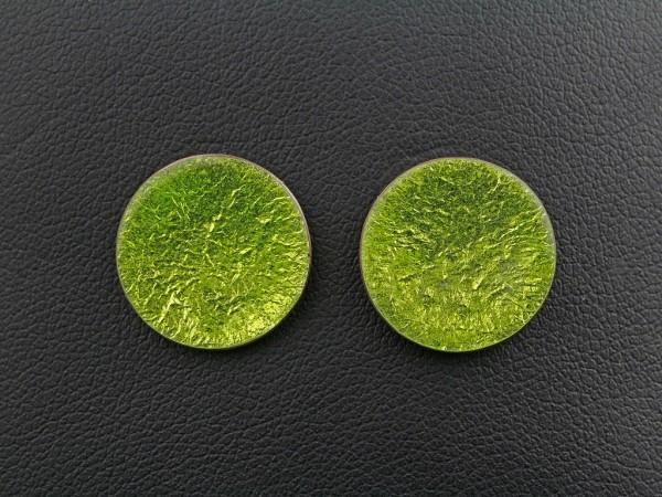 Emaille - Ohrstecker Lucente Grün