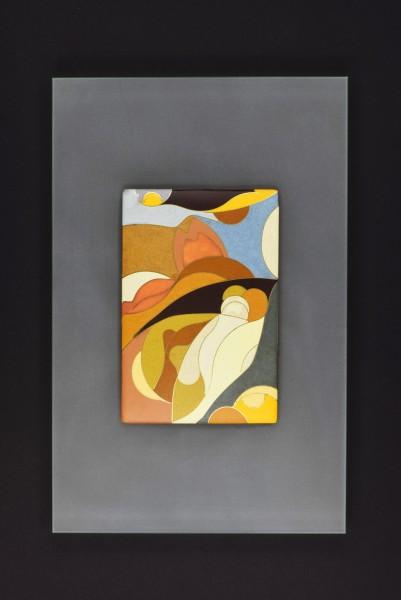 Emaille - Wandbild Moreno