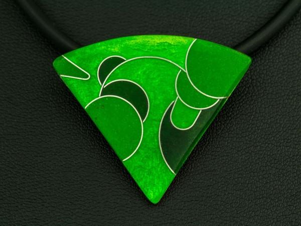 Green - Kettenanhänger Dreieck