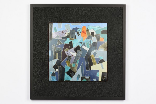 Emaille - Wandbild Negro