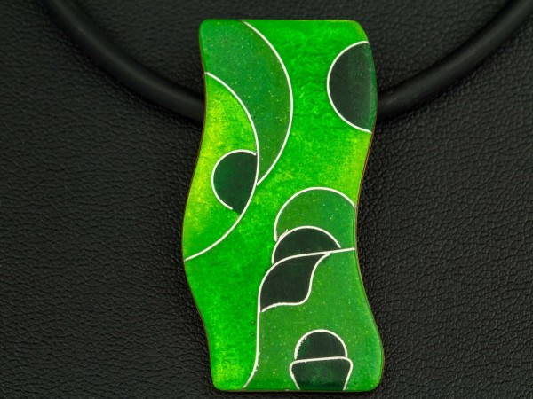 Green - Kettenanhänger Wellig
