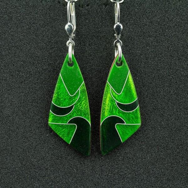 Green - Ohrhänger Dreieck